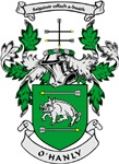 O'HANLY Coat of Arms