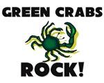 Green Crabs Rock!