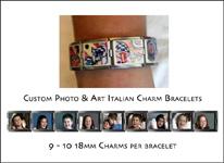 Custom Photo Charm Bracelets