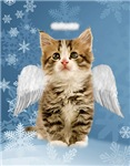 Angel Kitten Christmas Cards
