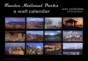 Twelve National Parks Calendar