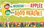 Vintage Michigan Apples in Good Health
