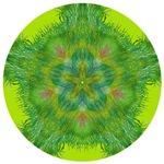 MANDALA ART: GREEN HEART CHAKRA