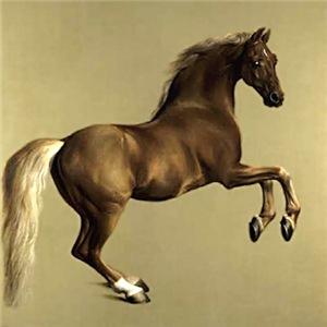 VINTAGE HORSE ART