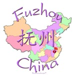 Fuzhou, Jiangxi, Color Map, China