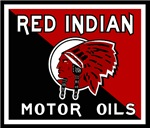 Red Indian vintage signs reproductions