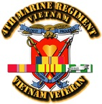 4th Marine Regiment w VN SVC