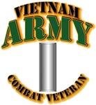 1st Lt - Vietnam - Cbt Vet D