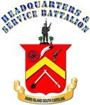 USMC - HQ and Service Battalion
