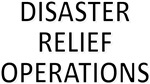 Disaster Relief Operations - Black