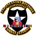 Army - 2nd Infantry Div w Afghan Svc