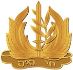Israel - Navy Hat Badge - No Text