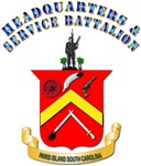 USMC - HQ and Service Battalion