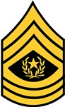 Army - Command Sergeant Major - Rank