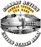 Army - CAB - 2nd Award - Combat Veteran