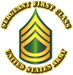 Army - Sergeant First Class E-7 w Text