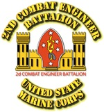 USMC - 2nd Combat Engineer Battalion