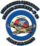 9th Fighter Squadron Flying Knights - Pk 40