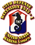 USMC - 13th Defense Battalion 1943 - 1