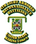 USMC - 4th Light Armored Reconnaissance Battalion