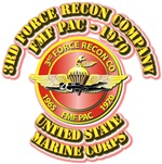 USMC - 3rd Force Recon Company - FMF PAC - 1970