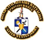 COA - 402nd Civil Affairs Battalion