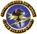 AAC - 430th Fighter Squadron, 474th Fighter Group