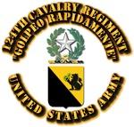 COA - 124th Cavalry Regiment