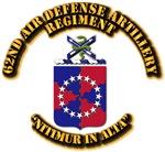 COA - 62nd Air Defense Artillery Regiment