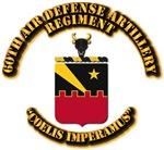 COA - 60th Air Defense Artillery Regiment