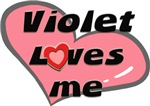 violet loves me