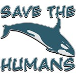 Save the Humans T-Shirts and Gifts