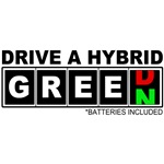 Drive a Hybrid(Batteries) T-Shirts and Gifts