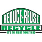Recycle, The Right Thing T-Shirts and Gifts