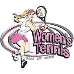 Women's Tennis T-Shirts and Gifts