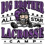 Big Brother Lacrosse Camp Purple