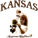 Kansas Windmill Girl