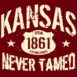 Kansas - Never Tamed!