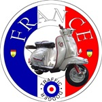 France Lambretta Scooter Traffic Dodger -