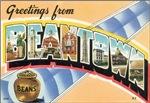 Beantown Vintage Postcard