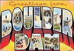 Boulder Dam Vintage Postcard