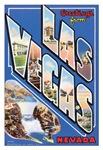 Las Vegas Vintage Postcard