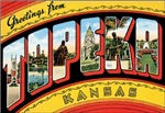 Topeka Vintage Postcard