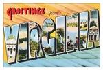 Virginia Vintage Postcard