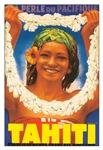 Vintage Tahiti Girl