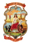 Washington DC Vintage Coat of Arms