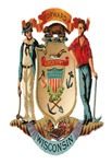Wisconsin Vintage Coat of Arms