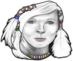 Songs Of Maiden Snow Bird, Native American Art