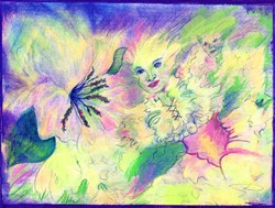 Hidden Fairy, Unique Fantasy Art Gifts