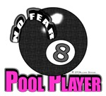 OTC Billiards, No Fear 8 Ball Pool Player Gifts